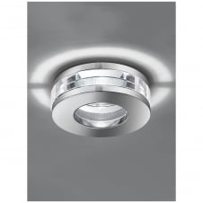 Chrome with Crystal Bathroom Ceiling Downlight