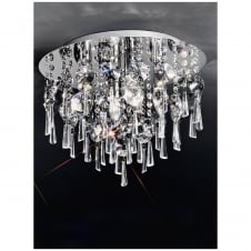 Crystal Diamond Ceiling Light Plate