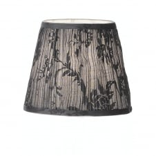 Grey Pleated Candle Shade