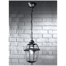 Nerezza Dark Grey Exterior Chain Suspended Lantern