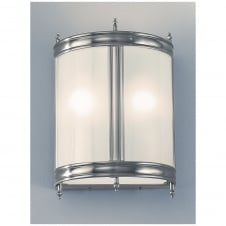 Pewter Wall Lantern EL26