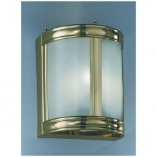 Polished Brass Wall Lantern EL26