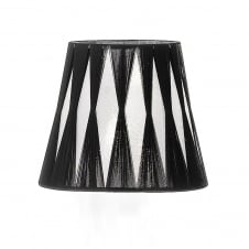 Silver/Black String Candle Shade
