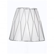 Silver/Chrome Candle Shade
