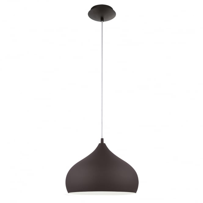 Eglo Hapton Dark Brown Hanging Lamp