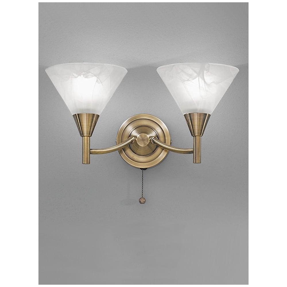 Wall Bracket Light Symbol : Franklite FL2251/2 Harmony Bronze 2 Light Wall Bracket ideas4lighting SKU1161I4L
