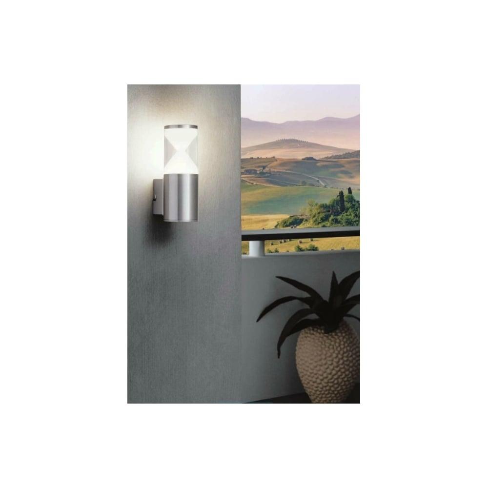 Eglo sku25390 helvella cylinder plastic wall light ideas4lighting helvella cylinder plastic wall light aloadofball Choice Image