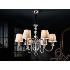 Holandesa Octopus Arms 6 Light Chandelier