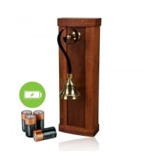 Mulino Mahogany Wood Battery Powered Door Bell