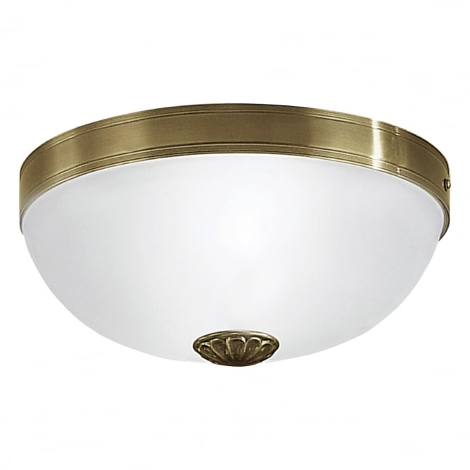 Eglo IMPERIAL Brass Bowl Ceiling Light