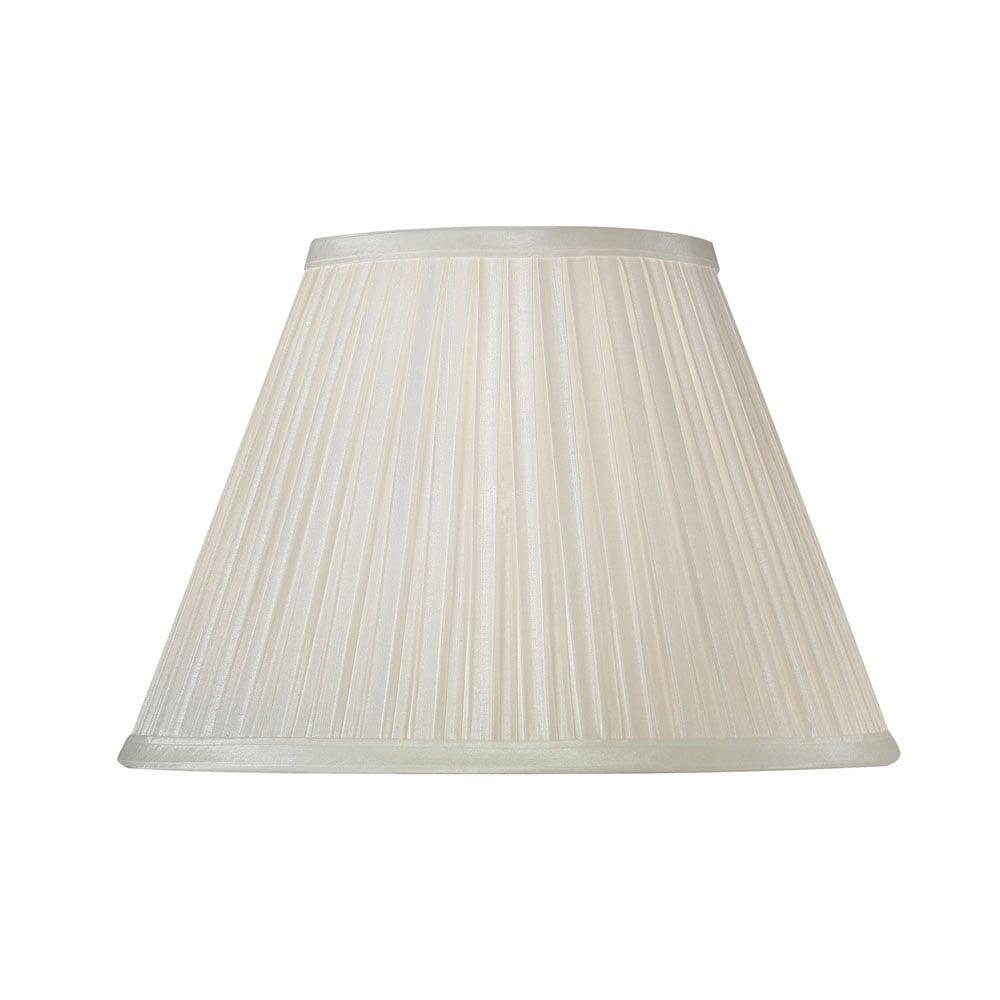 Oaks lighting s65020iv 20 ivory box pleat shade ideas4lighting ivory box pleat faux silk lamp shade mozeypictures Image collections