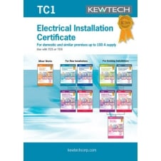 Electrical Test and Installation Certification Book