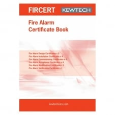 Fire Alarm Certification Book