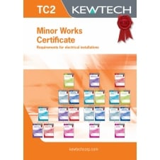 Minor Works Certificate Book