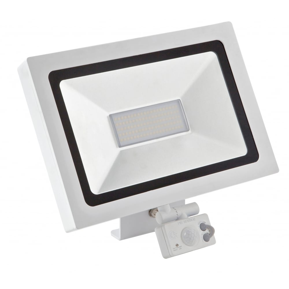 20w led floodlight with pir motion sensor micro activate. Black Bedroom Furniture Sets. Home Design Ideas