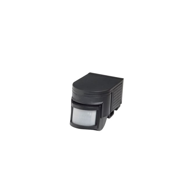 LED Robus Tiltable 180° Black Motion Detector