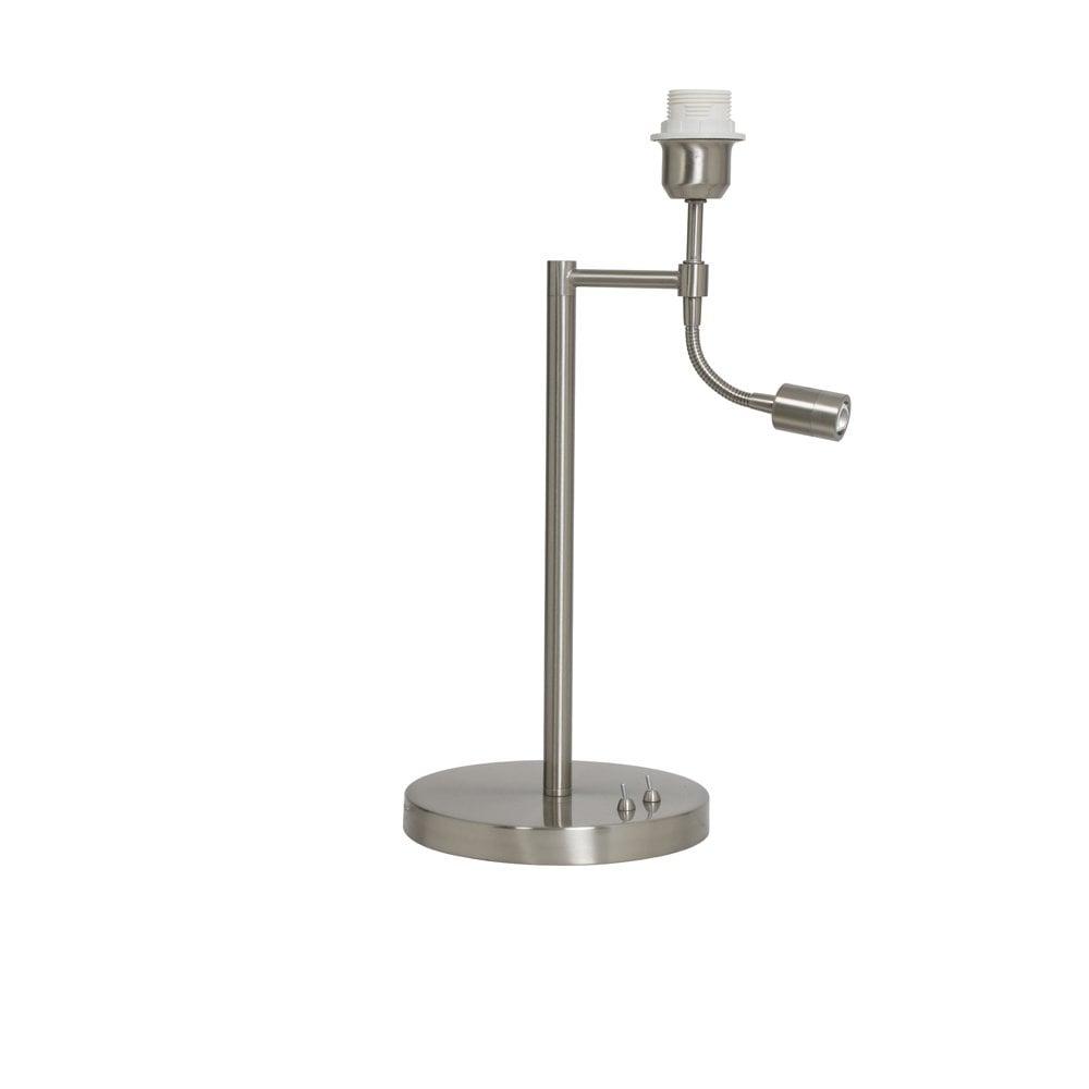 Light And Living 1714628 Calgary Modern Satin Nickel Table Lamp Ideas4lighting