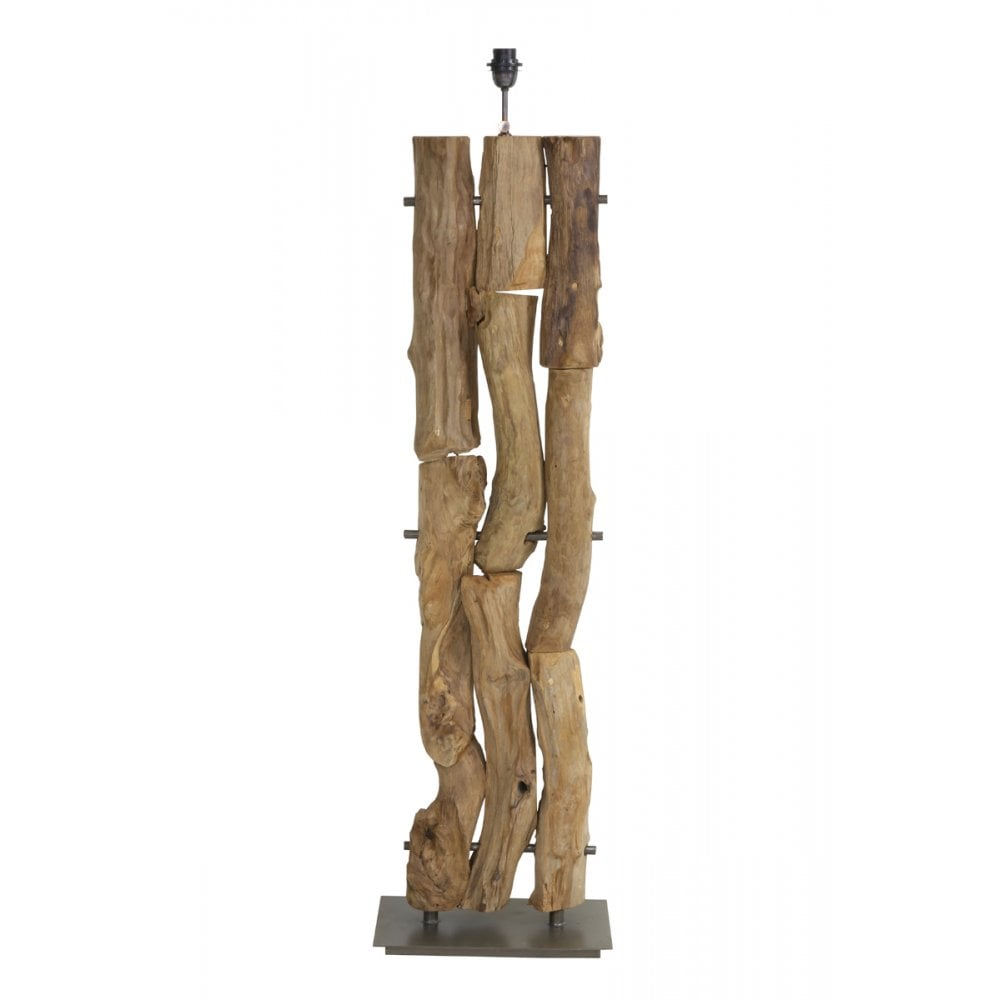 Living 7034884 Floor lamp GABROVO wood