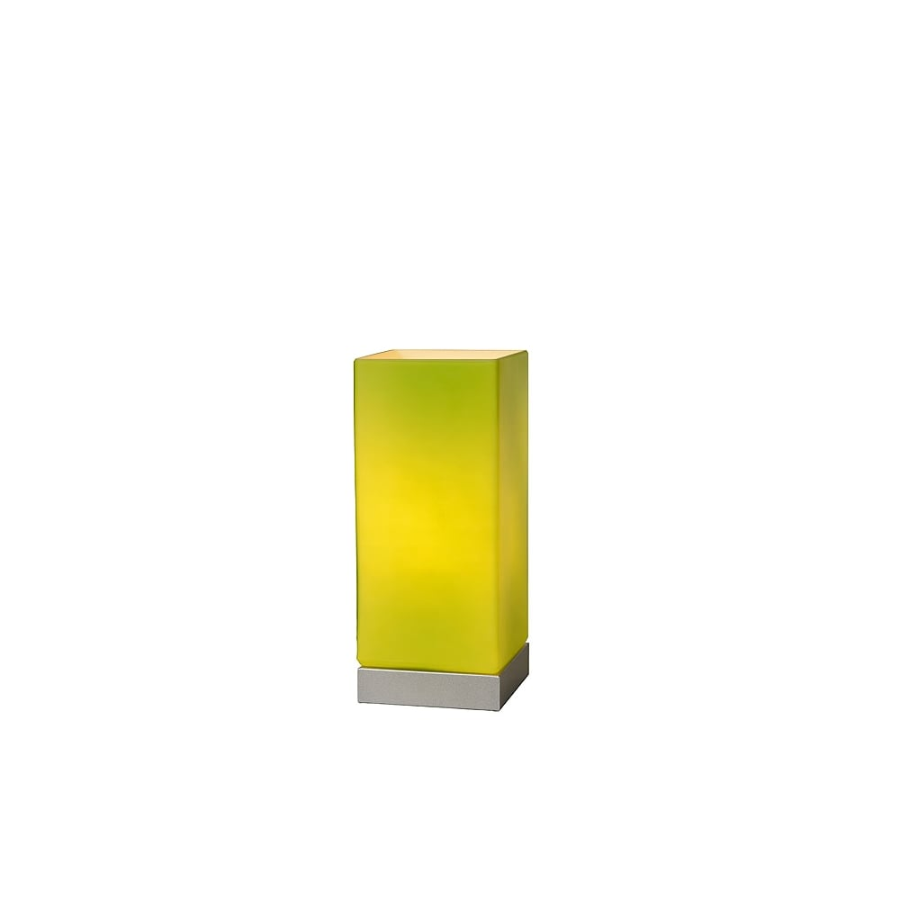 Lime Green Table Touch Lamp