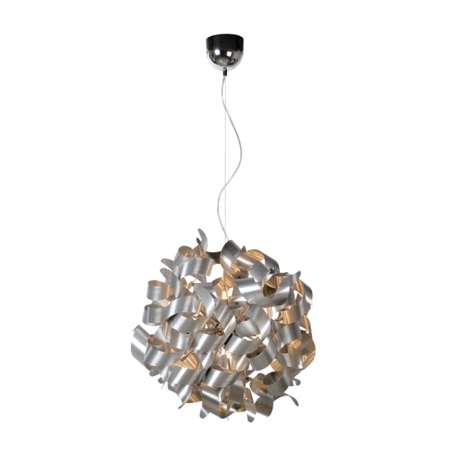 Lucide Atoma Spiral LED Ceiling Ball Pendant Light