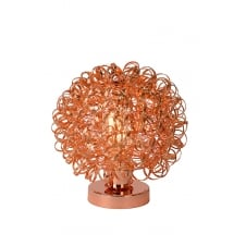 NOON Amara Red Copper Table Lamp