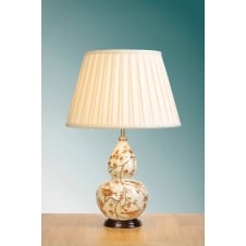 Autumn Leaves Gourd Table Lamp
