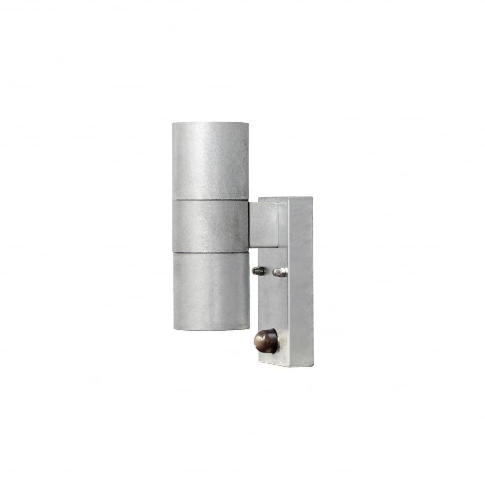 Radius Double Wall Light With Pir Black : Konstsmide 7542-320 Modena Double Wall Light galva ideas4lighting SKU5482I4L
