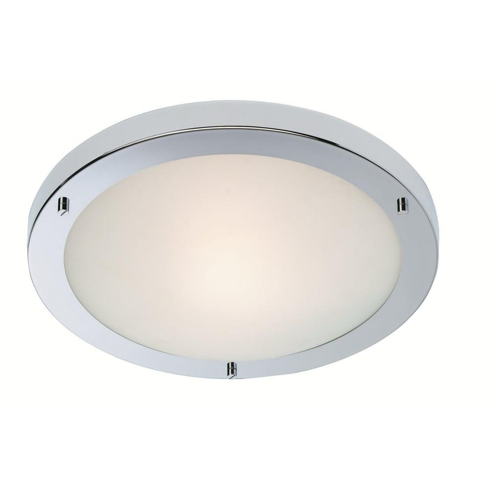 Firstlight 8611ch rondo led flush fitting ideas4lighting for Modern minimalist lighting