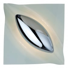 Lucas Modern Chrome Wall Light