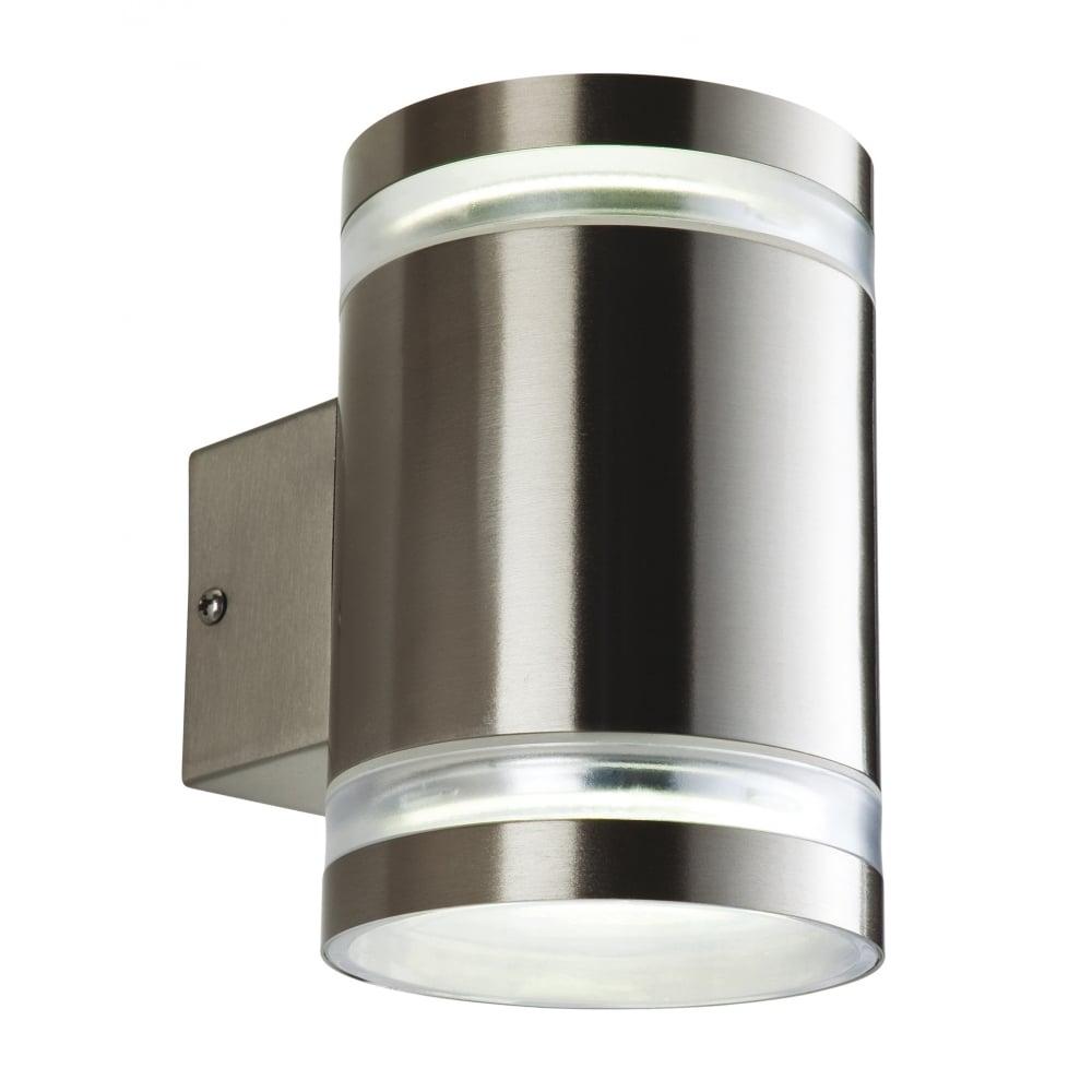 firstlight atlas outdoor cylinder 2 light wall ideas4lighting