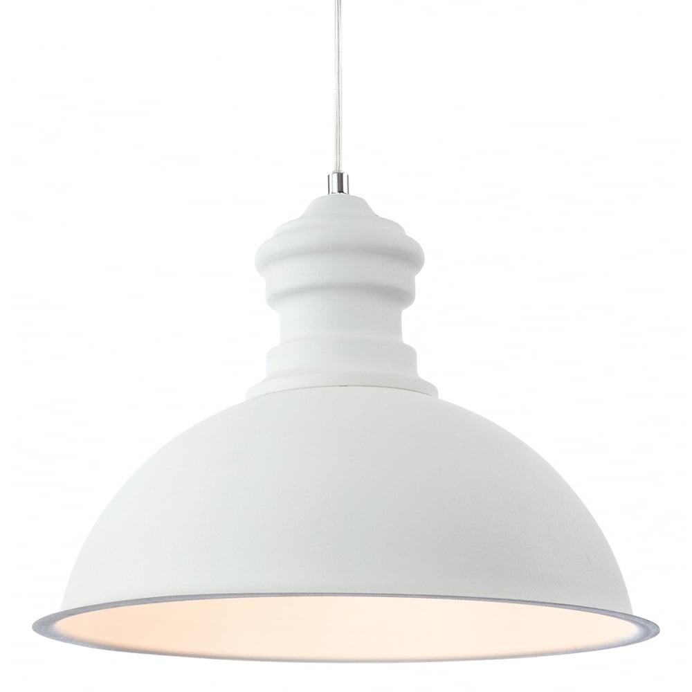 Firstlight 2307wh aztec pendant ideas4lighting sku63i4l for Modern white pendant lighting