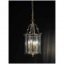 Montagu Bronze 4 Light Ceiling Lantern