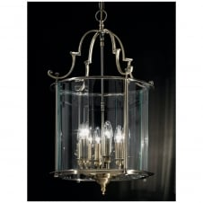 Montagu Bronze 6 Light Traditional Ceiling Lantern