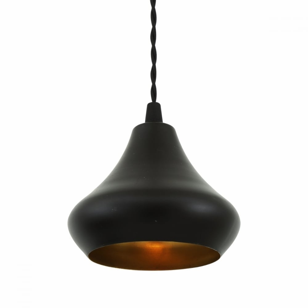 Amina Metal Cup Style Pendant Lamp