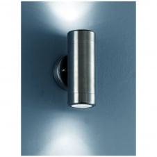 Nocturn Stainless Steel Exterior 2 Light Wall Bracket