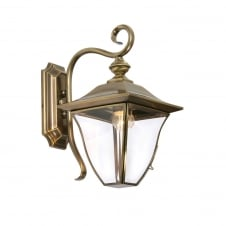 Callan 1 Light Brass Plated Lantern