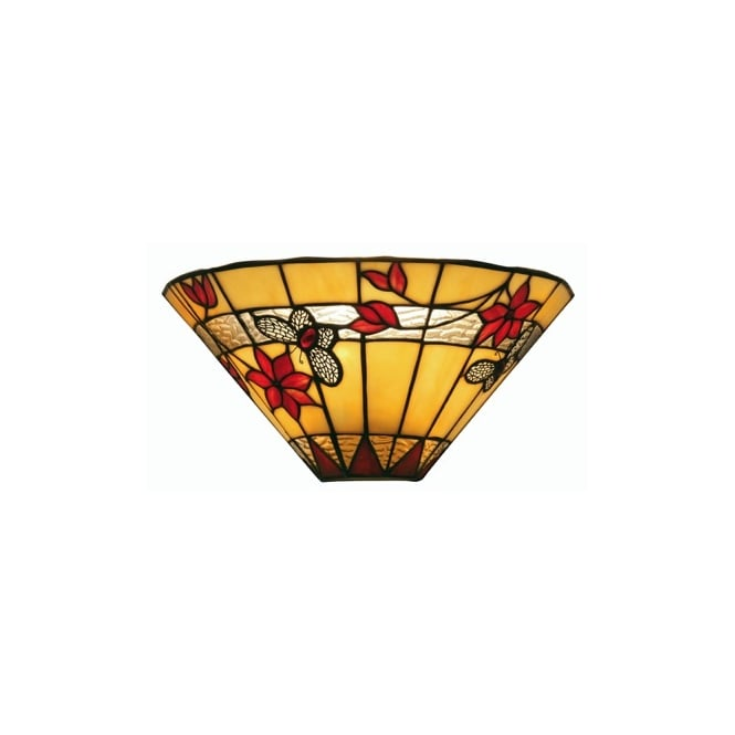 Oaks Butterfly Tiffany Wall Lamp