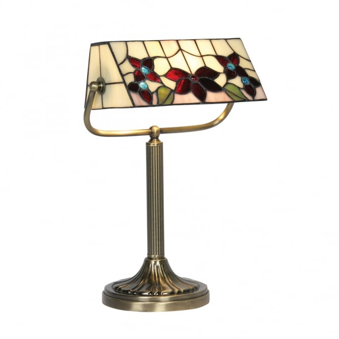 Oaks Camillo Bankers Lamp