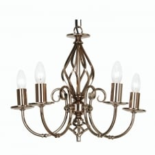 Tuscany Gun Metal 5 Light Ceiling Pendant