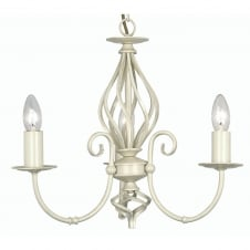 Tuscany Ivory 3 Light Ceiling Pendant