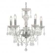 Marie Therese Crystal 5 Light Chandelier