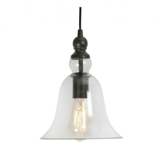 Oaks Randers Clear Glass Pendant