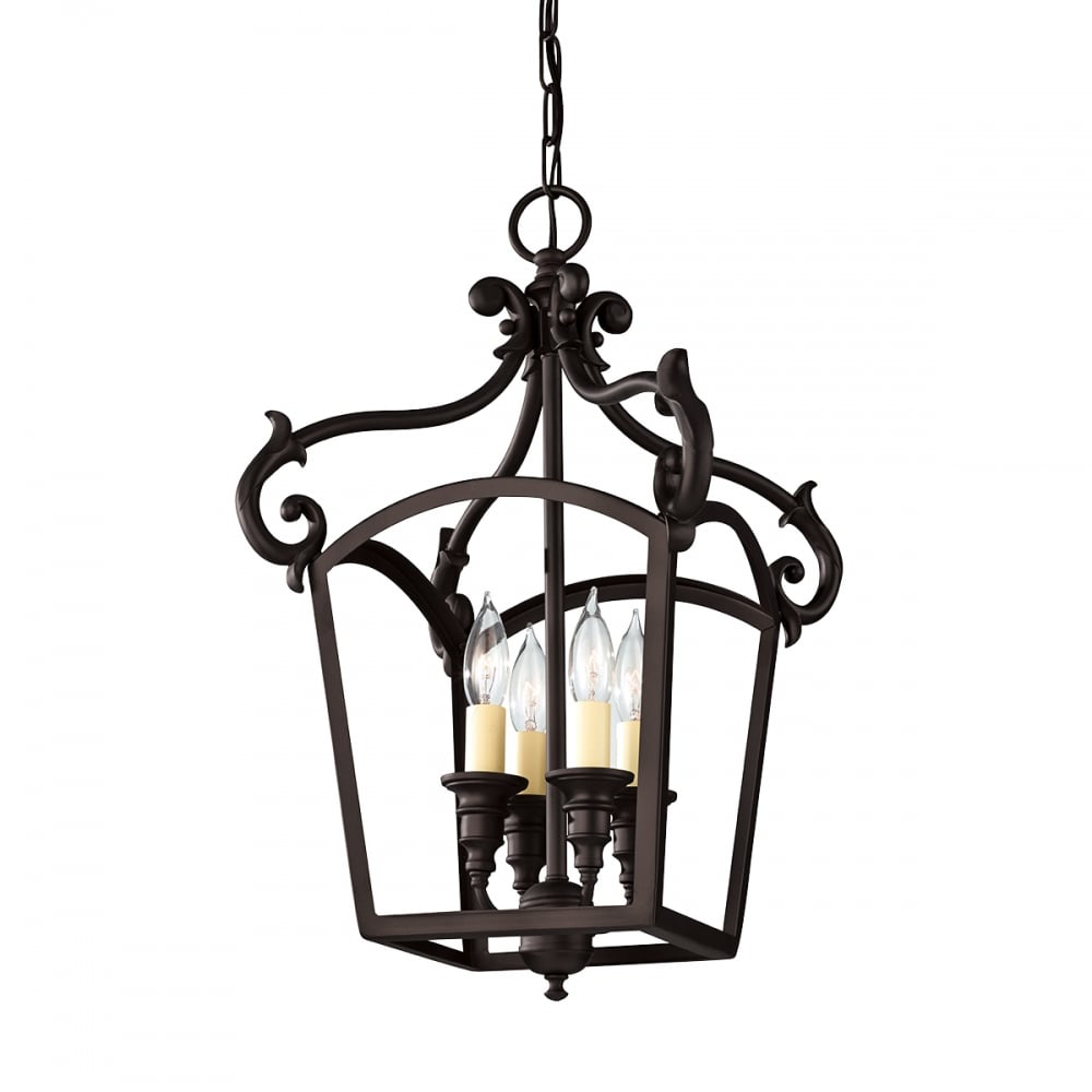 Hanging Lamp That Drips Oil: Luminary 4lt Chandelier