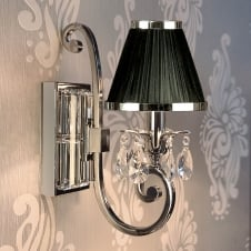 Oksana Nickel Single Wall Light