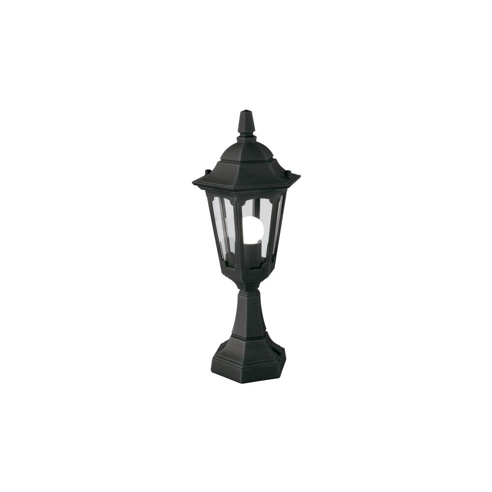 Warwick Pedestal Lantern Light Black: Parish Mini Pedestal Lantern Black