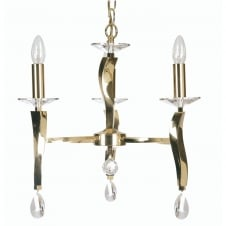 Aire 3 Light Pendant Gold