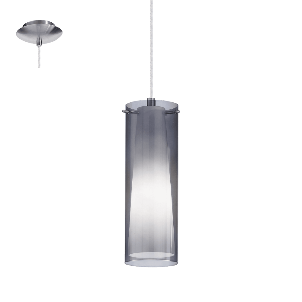 Eglo PINTO Steel Glass Ceiling Pendant