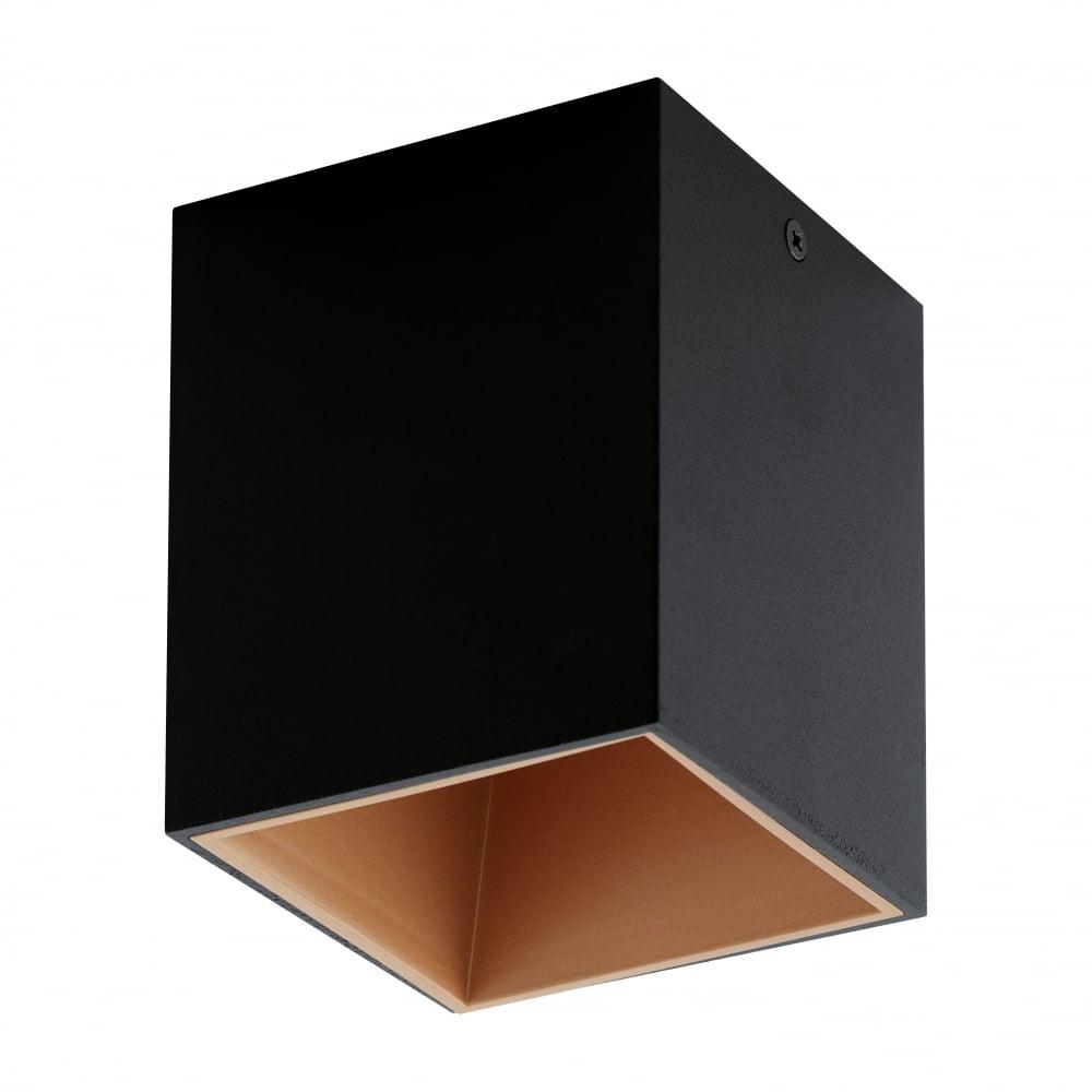 Eglo Polo Black Copper Led Surface