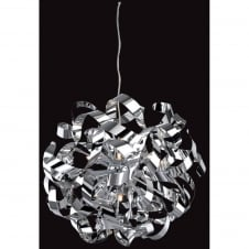 Ribbon Spiral Ceiling Pendant