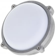 Round Graphite Grey 15W LED Outdoor Bulkhead